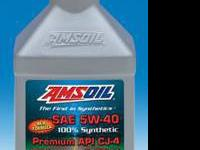 AMSOIL Premium API CJ-4 Synthetic 5W-40 Diesel Oil