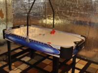An Air hockey Table extremely seldom utilized is for