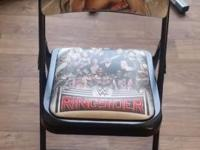 Hi, I am selling an Authentic WWE Ringersider Chair