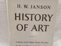 An Original Hard Copy book of Jansons History of Art