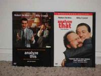 $4.00 each or $7.00 for the pair Analyze This -- Robert