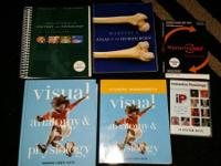 I'm selling my set of Anatomy & Physiology books from