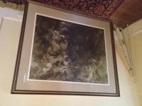Andrew Wyeth print from 1971- an original print. The