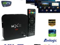 Amlogic MXIII Android 4K XBMC Quad Core WIFI TV Box