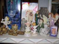 Angel Figurines- Asking $10 for all Angel/Christmas