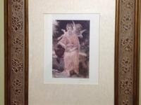Angel framed print. $10. Call or text 388-6085