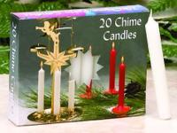 Box of 20 Angel Chimes Candles Imported From Germany,