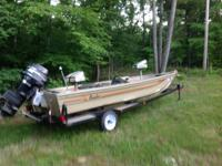 For Sale or Trade 1986 Angler 16' Bass Boat Mercury 500