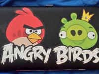 Selling today is an Angry Birds Hinge Wallet, purchased