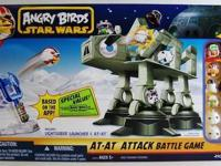 Angry-Bird play set Star wars imperial walker + birds +