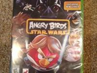 I am selling Angry Birds Star Wars, and Need for Speed