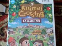I have an animal crossing city folk game with original