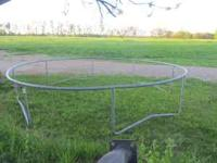 This heavy frame was a trampoline, however, the top