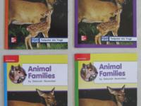 Animal Families Deborah November 4 books from a series