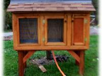 I have two hutches ready to go. They both measure 4'