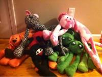 I have one of a kind animal neck pillows. Made with