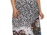 Cute animal print sundress with complementing multiple
