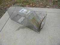 Large animal trap $35 Call or text . Thanks Location: