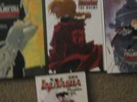Three Full metal Alchemist and one Inuyasha ,Art books.