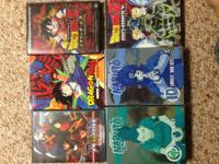 I am selling a couple of my anime dvd's / box sets. All