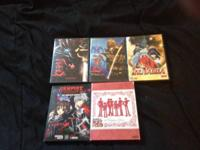 I have some anime dvd or dvd box sets   Karas 1-2 $10