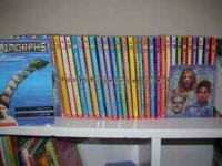 Set of 40 Animorph's chapter books by K. A. Applegate.