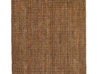 The Anji Mountain Mira Jute Rug features a large boucle