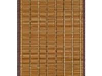 The Anji Mountain Villager Crimson Bamboo Area Rug adds