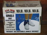 ANKLE WEIGHT in original box (with 34.99 price tags on