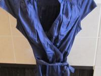Very nice blue blouse by Ann Taylor Loft in excellent