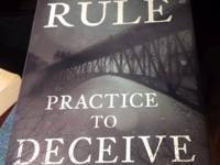 For Sale Ann Rule- Practice To Deceive (Hardcover)...