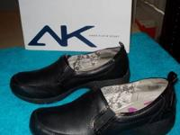 For Sale: Anne Klein Sport Kinley Black Leather Slip on