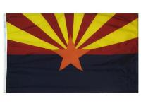 Annin's 3 ft. x 5 ft. Arizona State Flag is made from