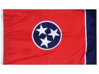 Annin's 4 ft. x 6 ft. Tennessee State Flag is made from