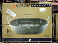 Anolon Advanced Rectangular Contoured Roaster with