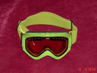 Item description: Lime green with amber lens,