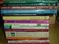 14 ANTHROPOLOGY soft covers * $1.00 each or $10.00 all