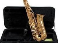Student Alto Saxophone no mouth piece with Case