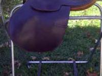 "Adorable 15"" saddle. Made by Antill Saddlery in"
