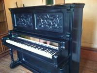 Type:PianosANTIQUE 1863 PIANO MADE IN TEXAS BY THOS.