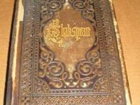 1870's Shakspeare's Complete Works/Dramatic Works Book
