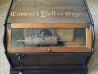 1890's Roller Organ The Concert Roller Organ was a