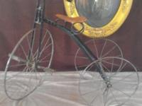 "Antique 1900 Tricycle. 36""L x 16""W x 30""H. Excellent"