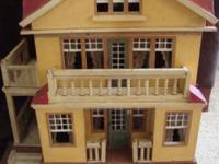 Antique 1920s German Moritz Gottschalk dollhouse Model