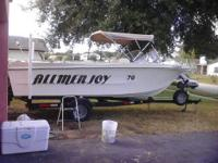 I HAVE A 1970 LAMAR LONG 20 FOOT. DOUBLE 70 HP ENGINES