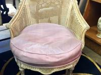 Antique 19th Century Pair of French Bergere Chairs