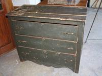 Antique 3 Drawer Cabinet constructed from Solid wood,