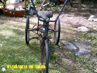 I have a antique 3 wheel bike for sale If Interesested