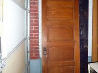 "1 antique 5 panel door that is 27 1/4"" x 76"" for $25"