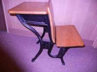 Great ACS 5 Elementary School Desk. Dates from the